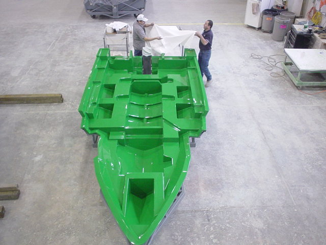 fiberglass mold for boat hull