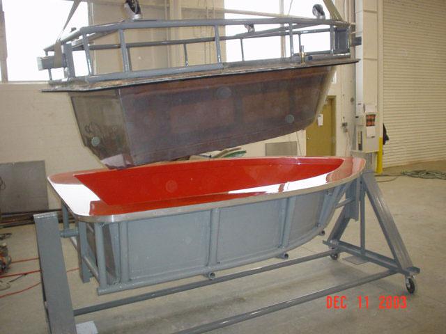 fiberglass boat mold